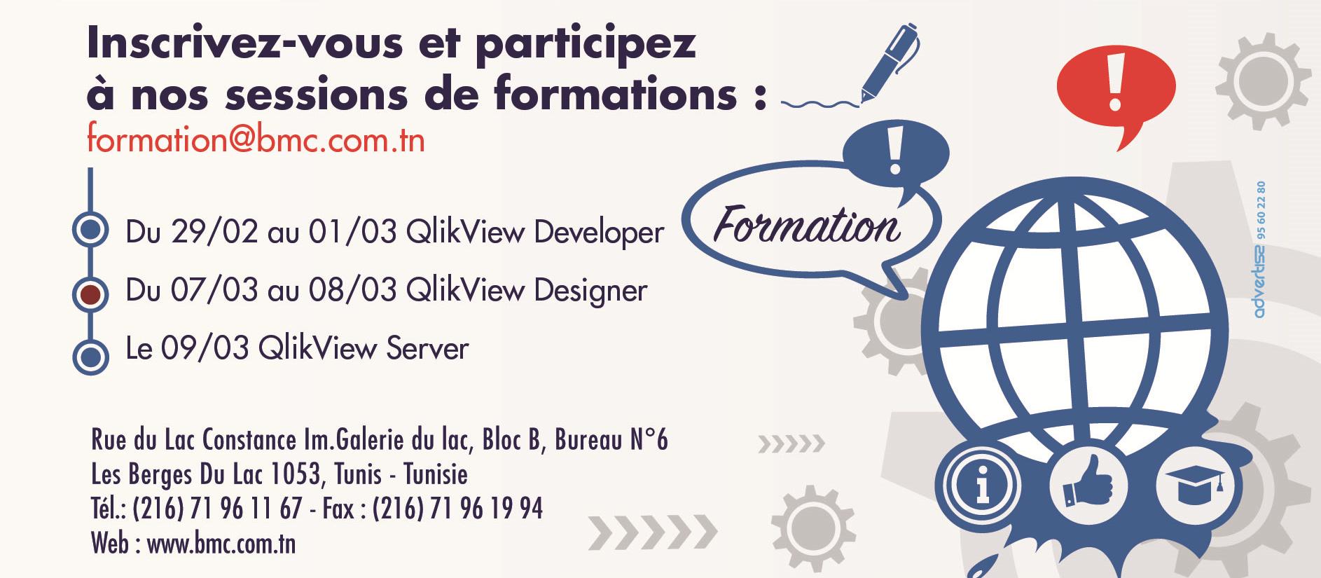 Nouvelles sessions de formations QlikView